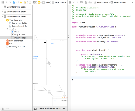 Beginning to put together the code logic programmatically.